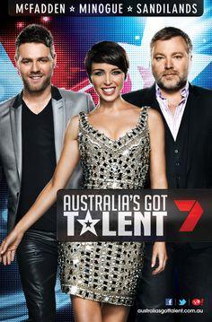 Australia's Got Talent 2012 by Jamie Carbery, via Behance