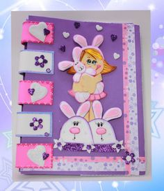 BUNNY NOTEBOOK COVERa fun way to protect your by SweetBellaLuna, $15.00