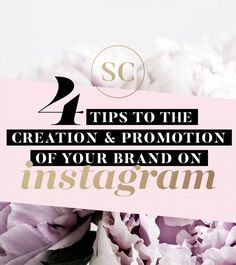 4 tips to the creation and promotion of your brand on Instagram. #instagramtips #instagram #socialmediamarketing #socialmediatips Digital Marketing Strategy, Social Media Marketing, Marketing Strategies, Instagram Promotion, Brand Promotion, Instagram Tips, Blogging For Beginners, Social Media Tips, Blog Tips