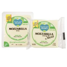 Follow Your Heart Cheese Vegan Slices  - Mozzarella (Dairy free)
