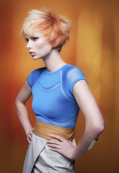 New #Trend Collection 2014: Tonia #hair, #shorthair #beauty #desertlight #trend2014 #color #haircolor #fierce #blonde #pivotpoint