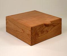 Handmade Wooden Box of Cherry