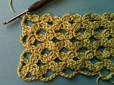 Crochet Tutorial - Very interesting photo tutorial for a lacy crochet stitch. Pattern charts can be downloaded too. From Crochet Me Blog.