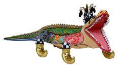 TOM´S DRAG Alligator Francesco XL- TOM' S | MAISON&OBJET AND MORE