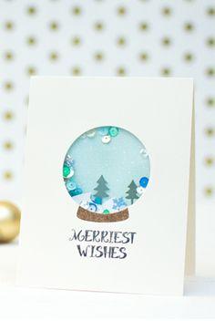 Confetti Snowglobe