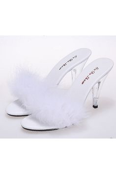 Summer Fun Plush Sandals Shoes Plus Size Nightclub Sexy Heels 10cm Transparent Women High Heels Crystal Shoes Slippers | Price: ฿2,643.30 | Brand: Unbranded/Generic | From: Top Seller Shoes - รวมรองเท้าแฟชั่น รองเท้าผู้ชาย รองเท้าผู้หญิง ราคาพิเศษ | See info: http://www.topsellershoes.com/product/52899/summer-fun-plush-sandals-shoes-plus-size-nightclub-sexy-heels-10cm-transparent-women-high-heels-crystal-shoes-slippers