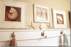 like the simple frames of wall art