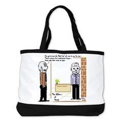 """""""Office Politics"""" Shoulder Bag"""