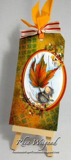 Passionate Paper Creations, House Mouse stamp