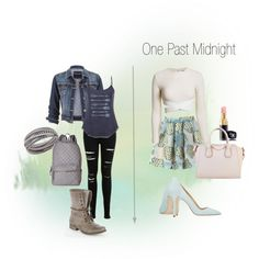 """For the dual lives of Sabine in """"One Past Midnight"""" by Jessica Shirvington  by theendlessshelf on Polyvore"""