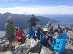 Summit Mt Luxmore, tick, on the Kepler Track, Dan's guiding a custom tour there at the moment #hiking