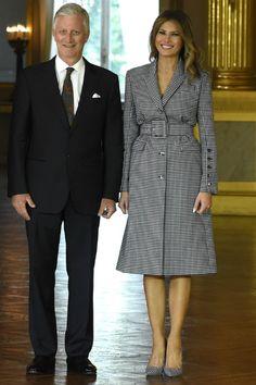 Мелания Трамп и король Филипп