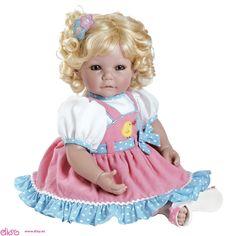#muñecasadoradolls Muñecas Adora dolls - Muñeca Chick Chat www.disy.es