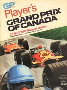 Canadian Grand Prix 1969 programme