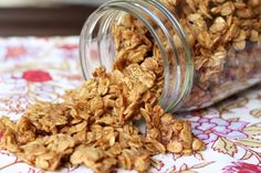 Chewy Oatmeal Toffee Cookie Granola