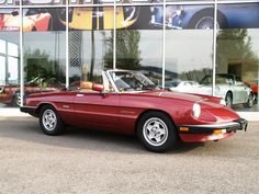 Weekend Dream Drive: This 1988 ALFA ROMEO SPIDER Convertible is ready for a long, fun drive.
