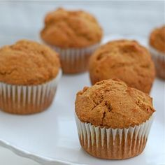 Pumpkin Muffin (from 100 Days of Real Food) #schoollunches #realfood #muffin Muffins can be flavored blueberry, cinnamon raisin, raspberry or banana as well.  Freezer friendly muffin recipe.