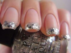 Glitter French Manicure Love it!