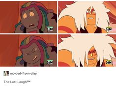 The last Laugh. Bismuth and Jasper