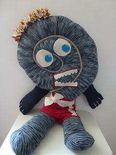 Da vecchie calzamaglie... Il mostro calzamaglia!