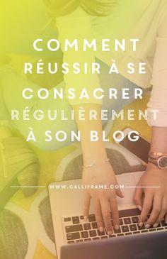 Se consacrer régulièrement à son Blog demande une certaine discipline. Mais on peut mettre en place certaines techniques pour se faciliter la vie.