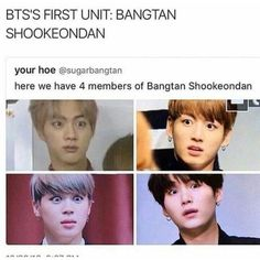 Jungkook would probably be the leader << cause he's always Jungshook
