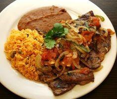 Mexican steak - Bistek a la Mexicana - El rinconsito de Michoacan
