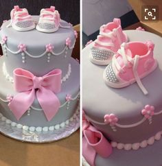 BLING BOOTIE BABY CAKE