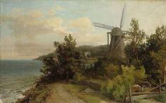 Windmill - Tuulimylly, Victoria Åberg (1824-1892) - ajoittamaton