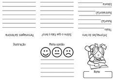 Criar Recriar Ensinar: FICHAS DE LEITURA Math Equations, Words, Hilario, 1, Notebook, Rose, Abc Centers, Letter E Activities, Reading Activities