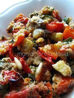 Contorno di verdure croccanti ricetta light | ricetta Persegani |