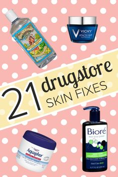Fix many common skin issues with these drugstore products that are recommended by celebrity makeup artists. They're affordable and really work.