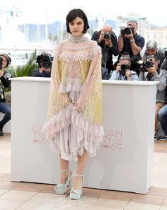 Soko at Cannes Film Festival 2016: What Everyone Wore on the Red Carpet - Cannes Film Festival 2016: What Everyone Wore | wmag.com