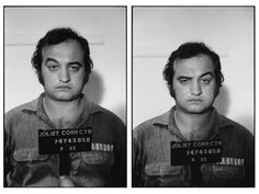 Only John can do the eyebrow trick on a mug shot.....