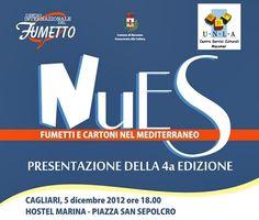 #Nues, la quarta edizione del #Festival dei #Fumetti e Cartoni del #Mediterraneo