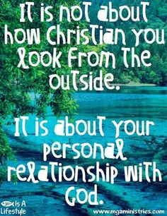 Your personal relationship with God facebook.com/donttakethemark