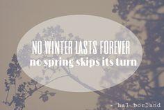 no spring skips its turn