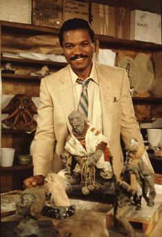 Billy Dee Williams first starred as Lando Calrissian in Star Wars: Episode V - The Empire Strikes Back in 1980