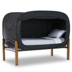The Privacy Pop Bed that you just can't live without. Your own private oasis that won't break the bank and fits most bed sizes.