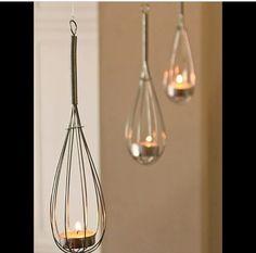 Luminária de batedor de ovo