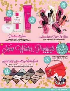 New Winter Fall Product Launch 2014 - some are limited edition and some are new full line items! Visit my website for details: www.marykay.com/amandalocke