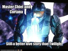 Master Chief and Cortana