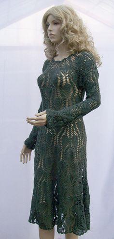 Vestido de crochê turquesa feito a pedido handmade crochet chique elegante praia primavera verão sexy mini-noite de núpcias