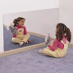 Whitney Brothers 4' x 2' Acrylic Mirror | Whitney Brothers