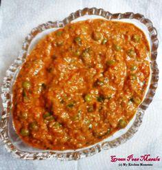 Green Peas Masala - Restaraunt style Green peas masala Recipe