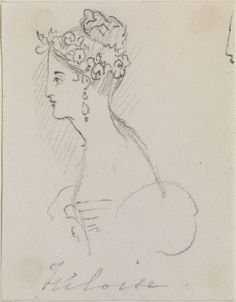 Heloise circa 1832 by Queen Victoria, Queen of the United Kingdom (1819-1901)