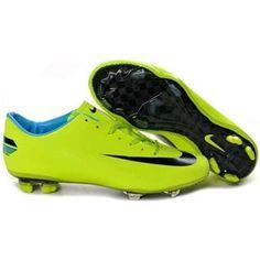 Nike Mercurial Vapor Superfly IV FG Mens Firm Ground Soccer Cleats Volt/Black