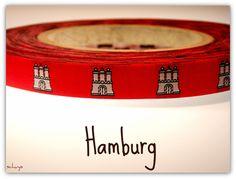 """*** Webband """"Hamburg-Band""""  *** mit Wappen von schuys auf DaWanda.com"""