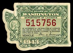 Creative Washington, License, State, Vehicle, and Sheaff image ideas & inspiration on Designspiration Vintage Love, Vintage Prints, Department Of Licensing, Victorian Crafts, Old Advertisements, Lottery Tickets, Vintage Typography, Old Postcards, Visual Communication