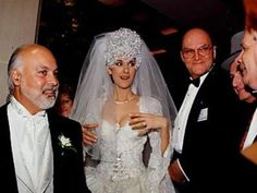 Mariage de Céline Dion & René Angélil (Québec) Samedi 17 décembre 1994.